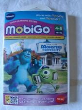 Vtech Mobigo Disney Pixar Monsters University 4-6 years 11 Games NEW Sealed