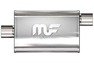 "MAGNAFLOW 4"" INCH STAINLESS PERFORMAMCE EXHAUST MUFFLER, SKYLINE WRX 2JZ"