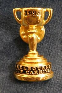 1998 MELBOURNE CUP CARNIVAL PROMOTIONAL PIN - JEZABEEL