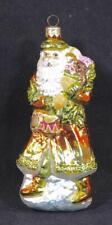 "Slavic Treasures ""Nocturnal Patron-Gold"" Blown Glass Ornament"