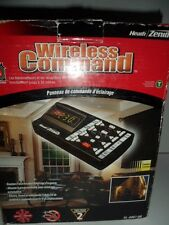 Heath Zenith Wireless Command SL-6007 BK Lighting Control Panel Panic Alert NIB