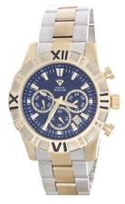 Aqua Master Men's Blue Dial Two-Tone Stainless Steel Diamond Watch W#333