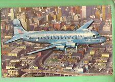 #C. 1951 POSTCARD - PAN AMERICAN AIRWAYS DOUGLAS DC-4
