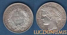 III République 1871-1940 1 Francs Cérès 1888 A Paris SUP++ (8) Argent