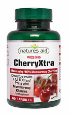 CherryXtra- x 60 Caps Made from 100% Montmorency Cherries, contains Anthocyanins
