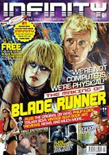 INFINITY #1 Blade Runner, Flash Gordon, Dr Who, Classic Star Trek, Philip K Dick