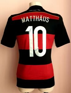 Germany 2014 - 2015 Away football Adidas shirt #10 Matthäus