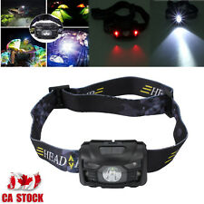 CREE LED USB Rechargeable Head Torch Headlight Lamp Camping Induction Headlamp