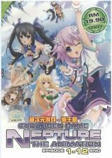 DVD Choujigen Game Neptune Episode 1-12 End + Free Shipping