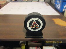 NHL Phoenix Coyotes InGlasCo Bettman Official Game Puck