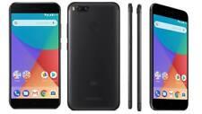 "Xiaomi MI A1 (64GB, 4GB RAM), Android One & Dual Cameras, 5.5"" DUAL SIM - Black"