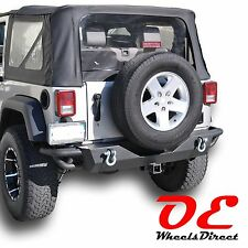 07-16 Jeep Wrangler JK Tubular Rear bumper 3 steel KO Off Road Recovery