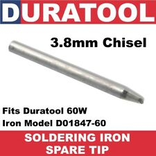 3mm Chisel Soldering Iron Tip 79-2330 for 60W Duratool D01847-60 5.8mm SD01127