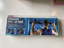 SPRI Premium Padded Iron Gym Door Mount Pull Up Bar NEW Sealed Box FAST SHIP!