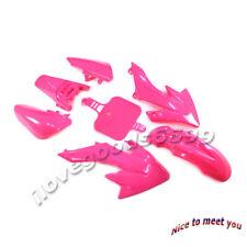 Pink Fairing Plastic Cover Kit For Honda CRF50 XR50 Pit Dirt Bike 50cc-160cc