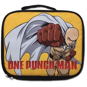 One Punch Man Saitama Punching Lunch Bag NEW Anime Show