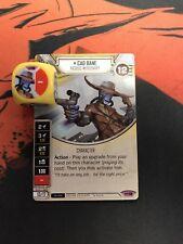 Cad Bane #18 Legendary Character Star Wars Destiny Empire at War EaW