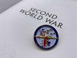 WW2 RAF Battle of Britain 1940-2021 81th Anniversary Metal Enamel Pin Badge