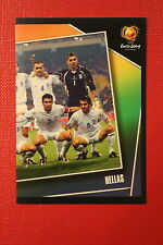 Panini EURO 2004 N. 29 HELLAS TEAM NEW With BLACK BACK TOPMINT!!