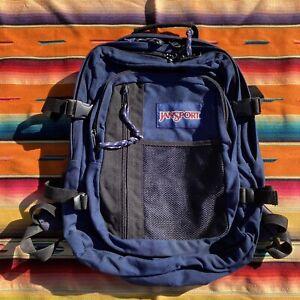 Vintage Jansport Backpack 90s Mesh Front