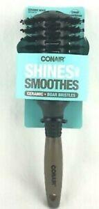 Conair Shines & Smoothes Ceramic Wood Hair Brush