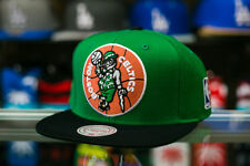 Mitchell & Ness Boston Celtics XL Logo Two Tone Snapback Hat - Kelly Green/Black