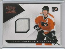 CHRIS PRONGER GAME USED JERSEY #/599 2010-11 LUXURY SUITE
