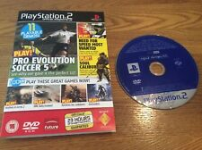 SONY PS2 DEMO DISC - Soul Calibur 3, Darkwatch, Wallace & Gromit, Need For Speed