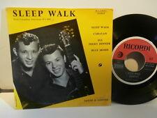 "santo & johnny""sleep walk""ep7""or.fra.ricordi:45s044.de 1959 rare"