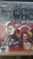 Doctor Who - Survival  DVD Sylvester McCoy as Dr Who - RARE SIGNED AUTOGRAPH BBC
