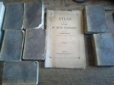 Voyage du jeune anacharsis en Grèce / Barthelemy 7 tomes sur 7  + Atlas