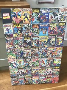 Marvel Avengers Comic Characters Collage Canvas Art Print/ Picture / Large