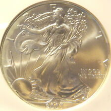 2007 SILVER EAGLE, NGC,  MS 69