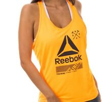 Reebok Sport Studio Graphic Tanktop women Tops Weiß Tanks