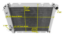 1967 1968 Ford Thunderbird Champion 3 Row Aluminum Radiator CC385