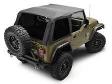 1997-2006 Jeep Wrangler Bowless Frameless Soft Top & Tinted Windows
