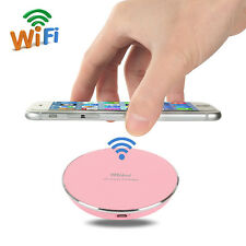For Apple iPhone 5S 6 plus Samsung QI Wireless Charger Charging Pad Dock NY