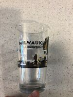Milwaukee Brewing Company MKE Wisconsin Destination Local Beer Pint Glass 16oz.