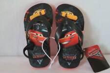 New Toddler Boys Disney Cars Sandals Flip Flops Shoes Medium 7 - 8 Slip On