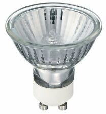 10 X GU10 bombillas de larga vida Lámpara Luz Halógena 50W 240V Bombilla Blanco Cálido Nuevo