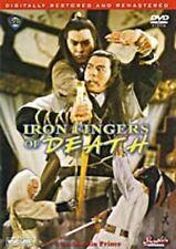 Iron Fingers of Death- Hong Kong RARE Kung Fu Martial Arts Action movie - NEW