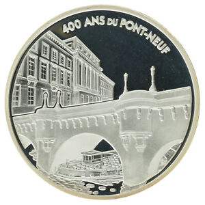 France - Silver 1½ Euro Coin - 'Pont-Neuf' - 2007 - Proof