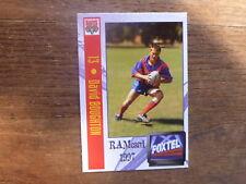 1997 ADELAIDE RAMS SUPER LEAGUE CARD #14 DAVID BOUGHTON