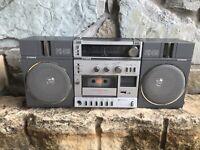 RARE Vintage Fisher PH 415K High Fidelity Stereo AM FM Cassette Boombox  Radio