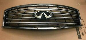 NEW OEM INFINITI Front Radiator Grille with Emblem 623101MA0B M37 M56 2014 Q70