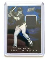 2019 Panini The National AUSTIN RILEY Jersey Patch Relic Baseball Card SP /50