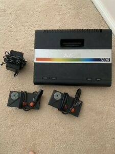 Atari 7800 Console + Controllers