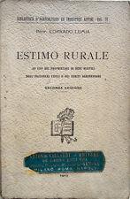 1913 – LUMIA, ESTIMO RURALE – AGRIMENSURA GEOMETRI INGEGNERIA PERIZIE FONDIARIE