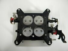 """Holley-QFT-AED-CCS Billet Blow-Thru Base Plate Assembly 1 11/16"""" 650-800 CFM"""