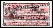 Mazatlan, Tes Gral. del Estado de Sinaloa 50 Centavos 1914 M3756c / SI-SIN-9  AU